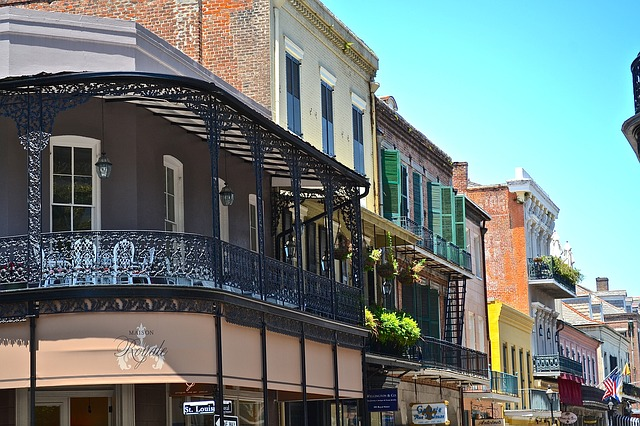 historic street in new orleans