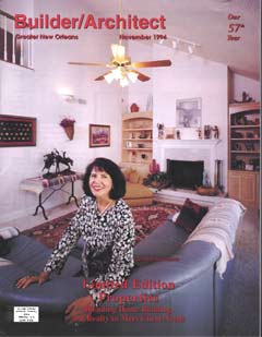 Lynda Nugent Smith on Builder/Architect magazine cover